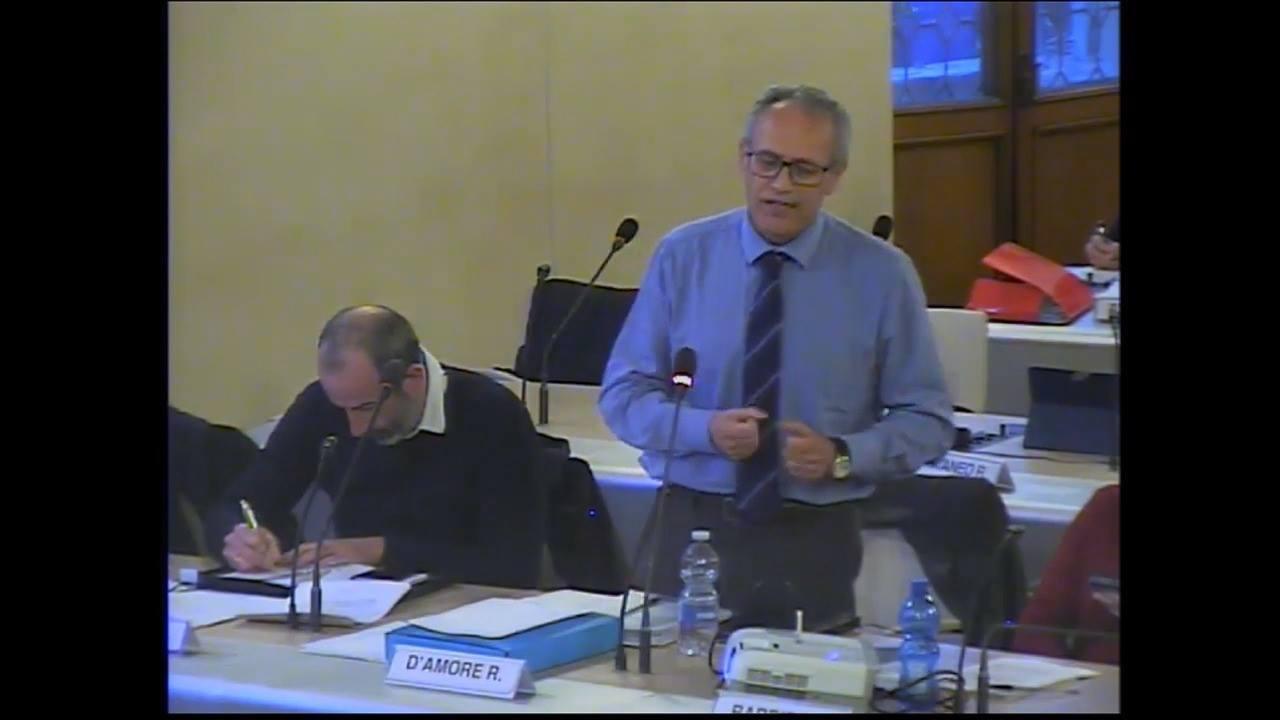 11 aprile 2019. Consiglio Comunale. L'intervento del consigliere della Lista Cicero Roberto D'amore.