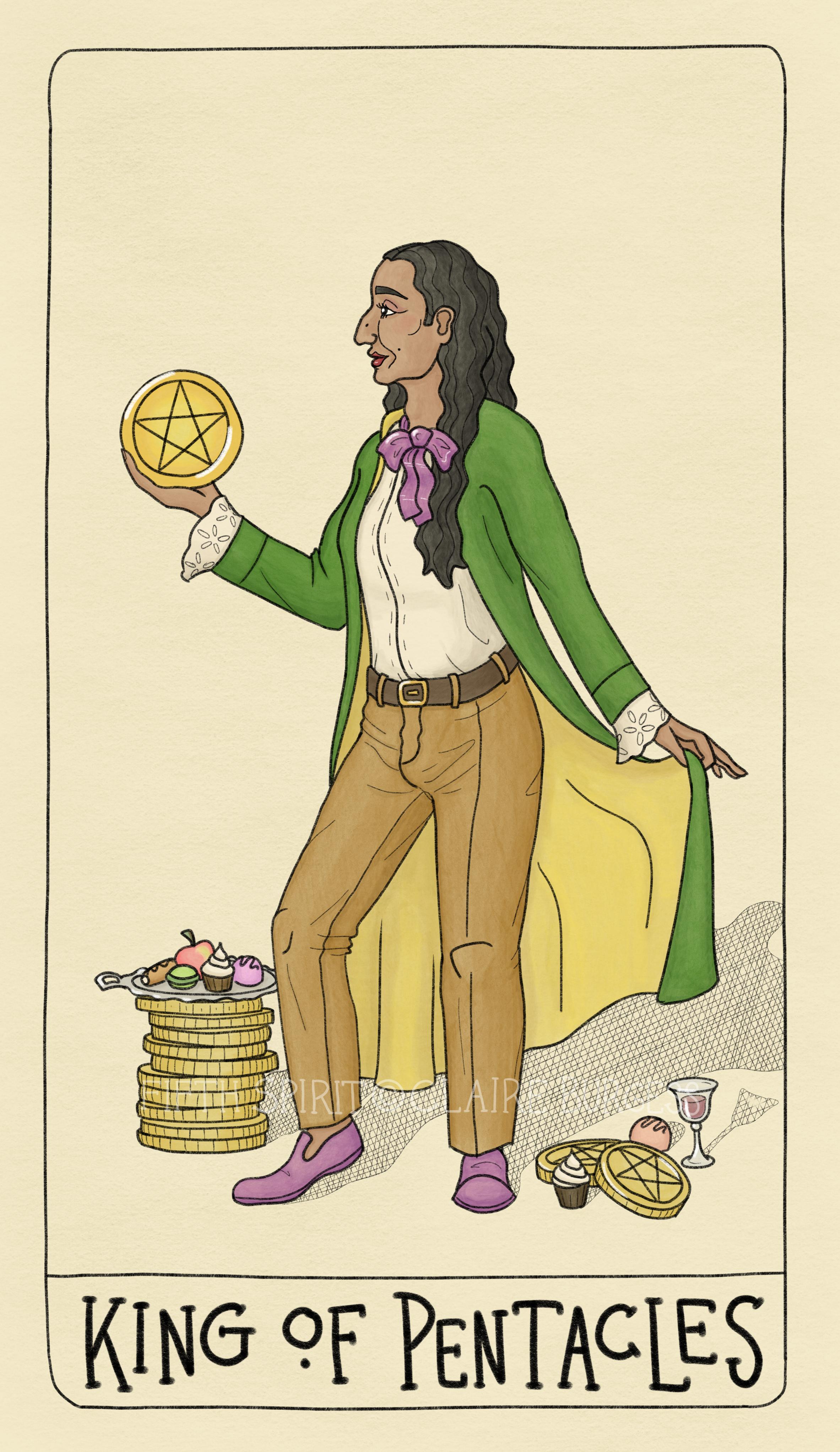 King of Pentacles - Fifth Spirit Tarot