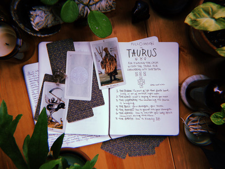 Full Moon in Taurus: Spirit Made Flesh