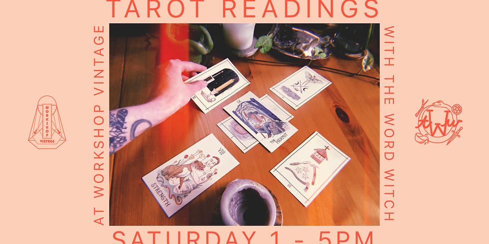 Tarot Readings at Workshop Vintage