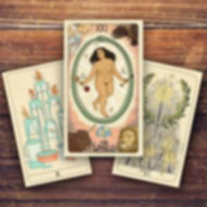Fifth Spirit Tarot Word 10 Cups 6 Wands.