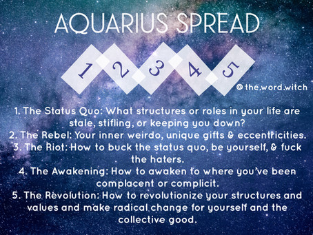 New Moon in Aquarius: The Revolution is Personal