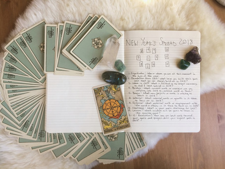 Year Ahead Tarot Spread