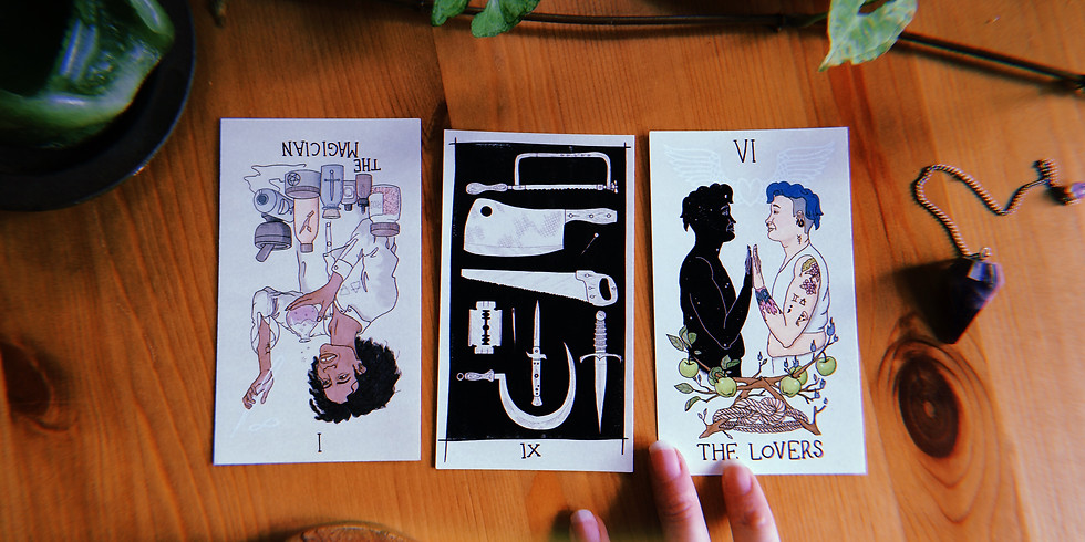 Solstice Pop-up Tarot Readings