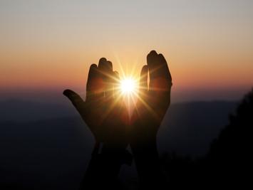 Aceitação, esperança, acreditar e confiar!