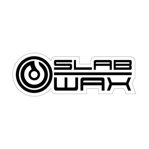 SLAB WAX【ステッカー】WHITE