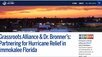 Grassroots Alliance & Dr. Bronner's: Partnering for Hurricane Relief in Immokalee Florida