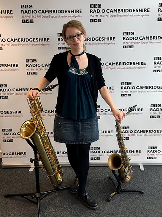 Liz at BBC Radio Cambridgeshire