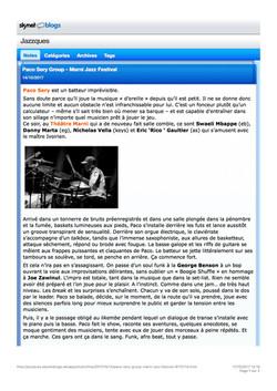 Marni Jazz Festival _ Jazzques