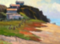 Houses by the Sea h12 w16.jpg