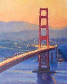 Golden Gate at Sunset h30 w24.jpg