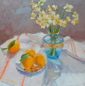 Lemon & Narcissus h16 w16. jpg