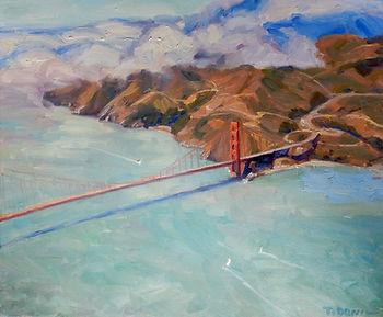 Above the Golden Gate h20 w24.jpg