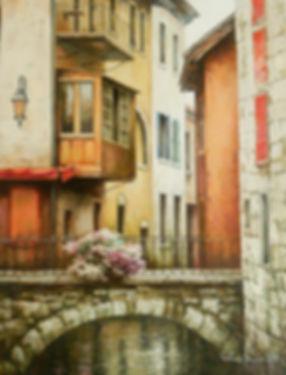 Summertime in Venice II h18 w24.jpg