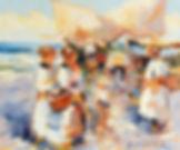 MediterraneanBeach(20x24).JPG