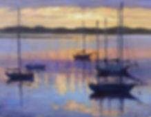 Sunset Boats h16 w20.jpg