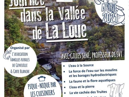 Annulé- Sortie Nature dans la vallée de la Loue, Carte Blanche organise le voyage