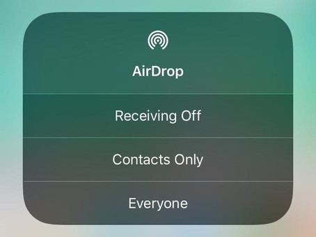 Using AirDrop Is Not As Safe As You Think