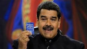 Facebook Freezes President Maduro's Page