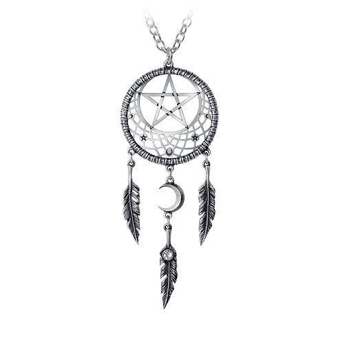 ALCHEMY GOTHIC P873 PAGAN DREAM CATCHER