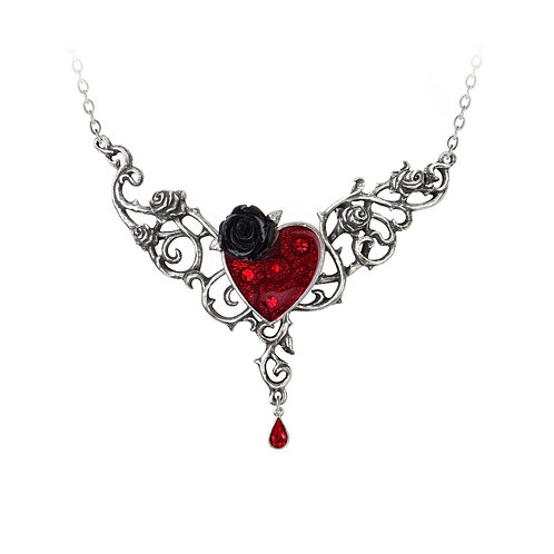 ALCHEMY GOTHIC P721 THE BLOOD ROSE HEART