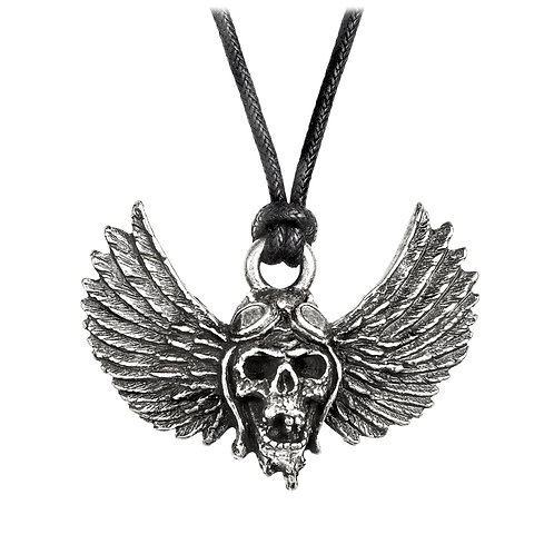 ALCHEMY GOTHIC PP513 AIRBOURNE: WINGED SKULL