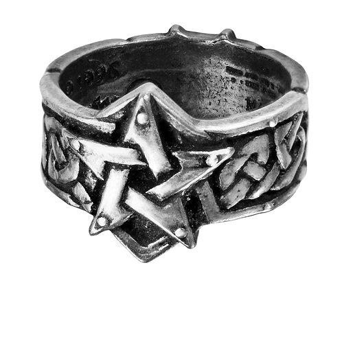 ALCHEMY GOTHIC R50 CELTIC THEURGY-RING