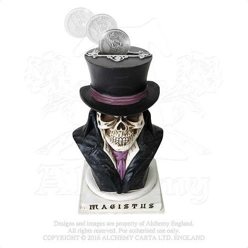ALCHEMY GOTHIC V35 COUNT MAGISTUS MONEY BOX
