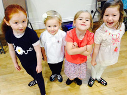 Little dancers from the York class