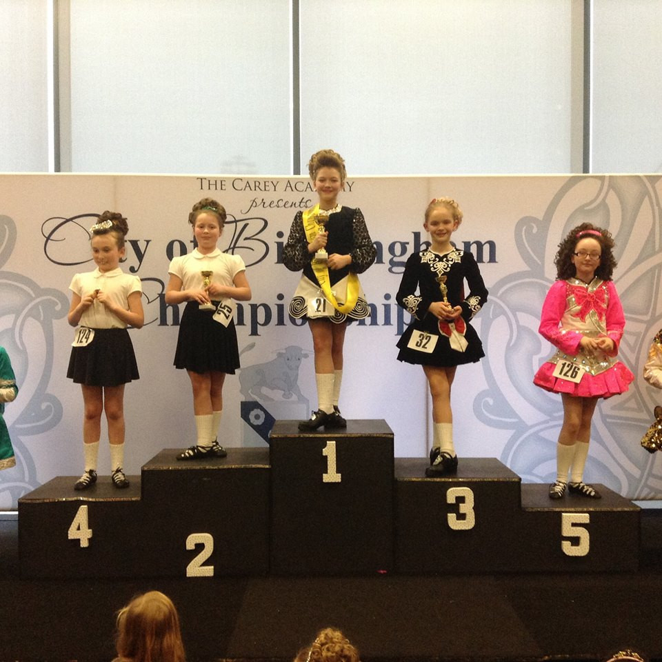 City of Birmingham Championships. 2nd for Holly and 4th for Scarlett!
