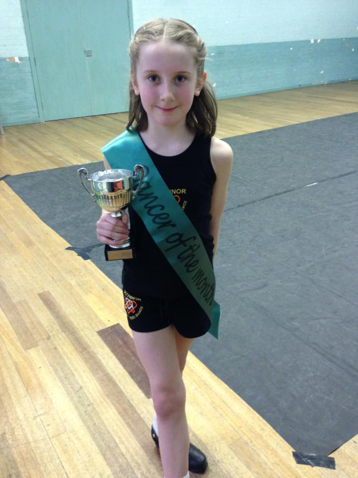 Dancer of the month