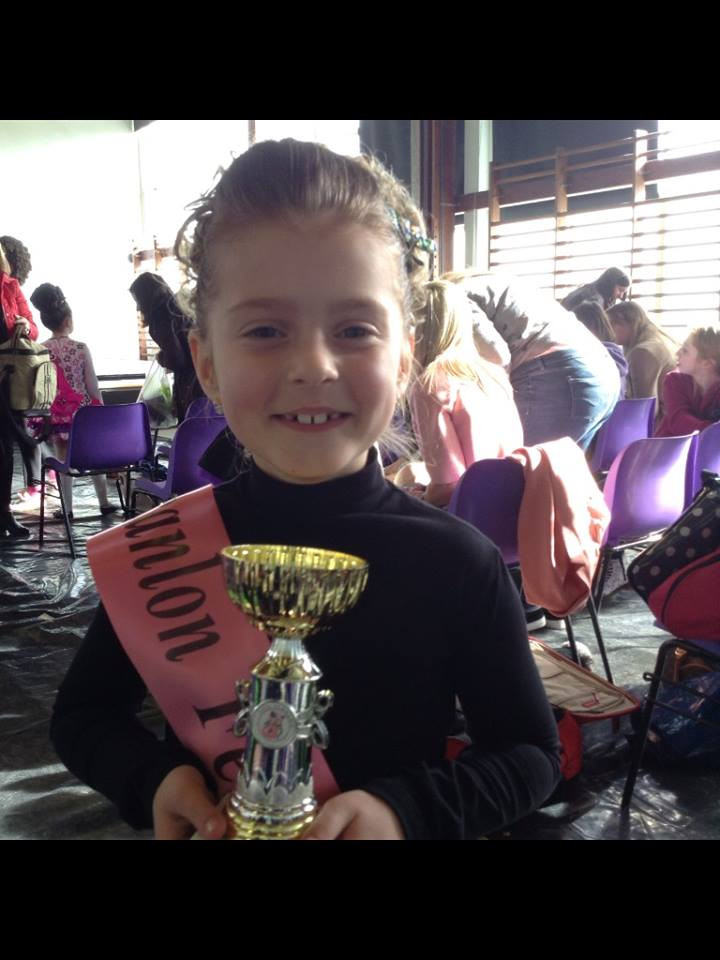Scanlon Feis 2015. First place for Anna!