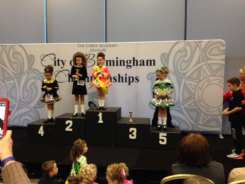 City of Birmingham Championships. 2nd place for Saffron!