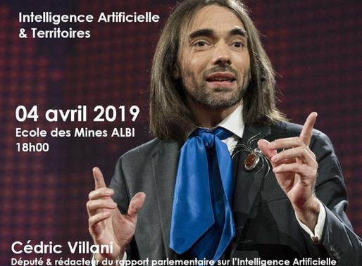 4 avril 2019  soirée Economie Numérique    5 eme édition              IA et TERRITOIRE