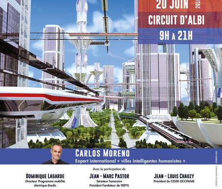 1 ère RENCONTRE DE LA MOBILITÉ INNOVANTE 20 juin 2019  Circuit d'ALBI
