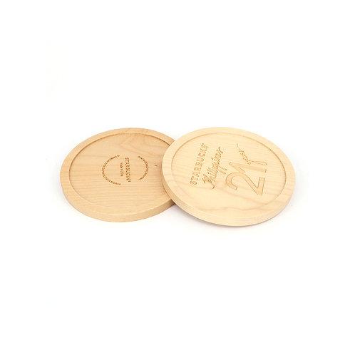 Minimal Wooden Coaster