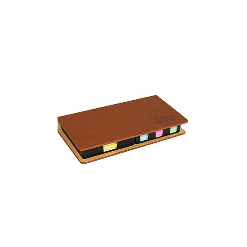 Leather Sticky Note Set
