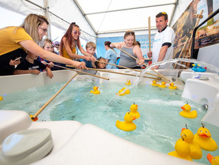 Superhero duck raises over £12,600 for Royal British Legion