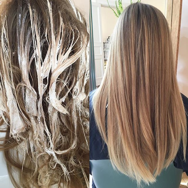 Balayage inkl. Haarschnitt