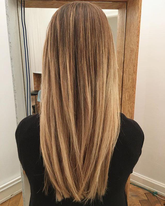 Balayage ohne Haarschnitt
