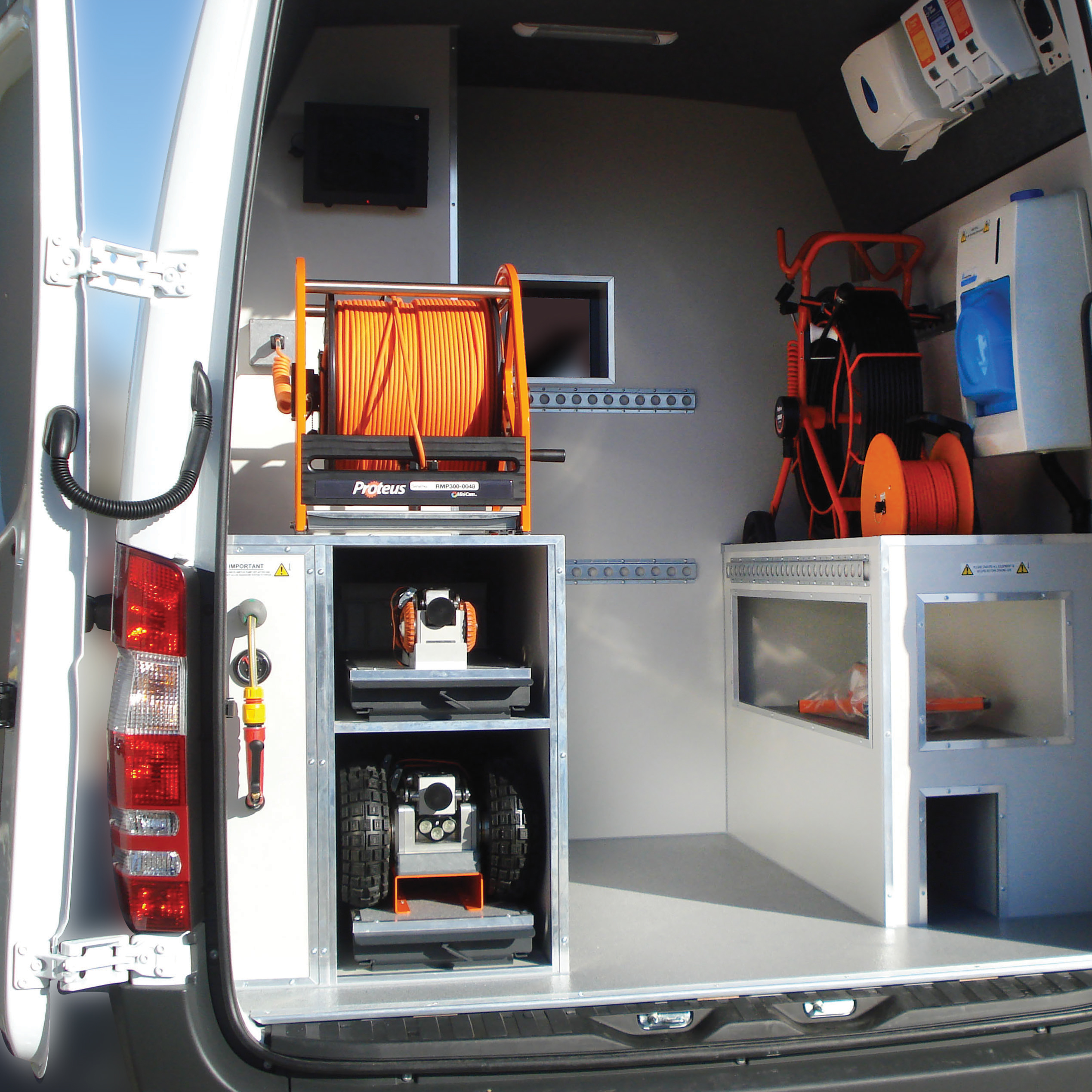 mini-cam-pipeline-inspection-van