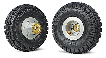 MINI-CAM LARGE PNEUMATIC TIRES