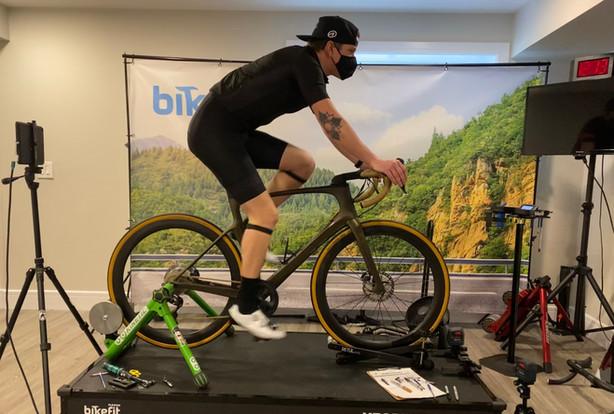Road bike fit Edmonton