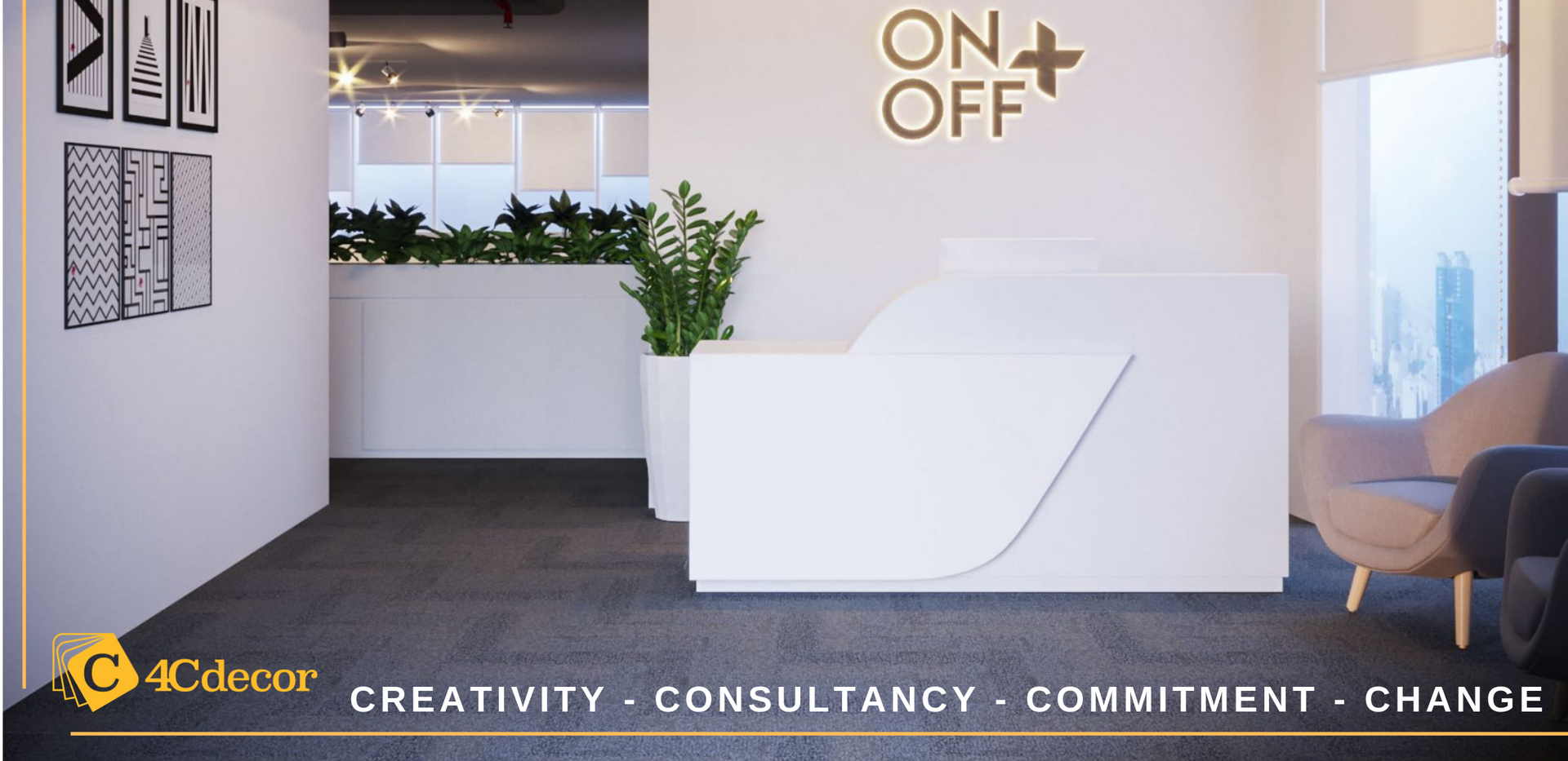 Creativity - Consultancy - Commitment -