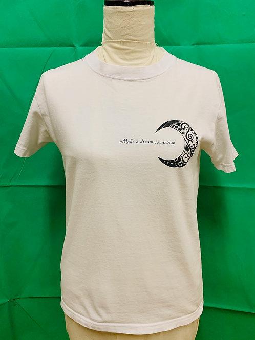 商品名 クレセント Tシャツ ホワイト