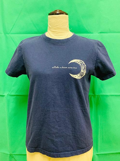 商品名 クレセント Tシャツ インディゴブルー
