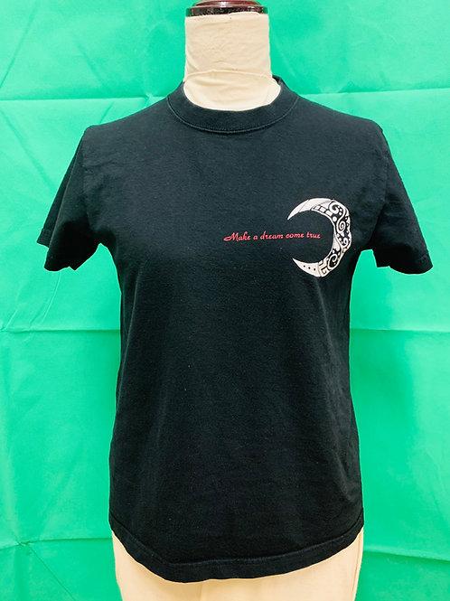 商品名 クレセント Tシャツ ブラック