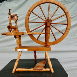 Frank Herring Spinning wheel