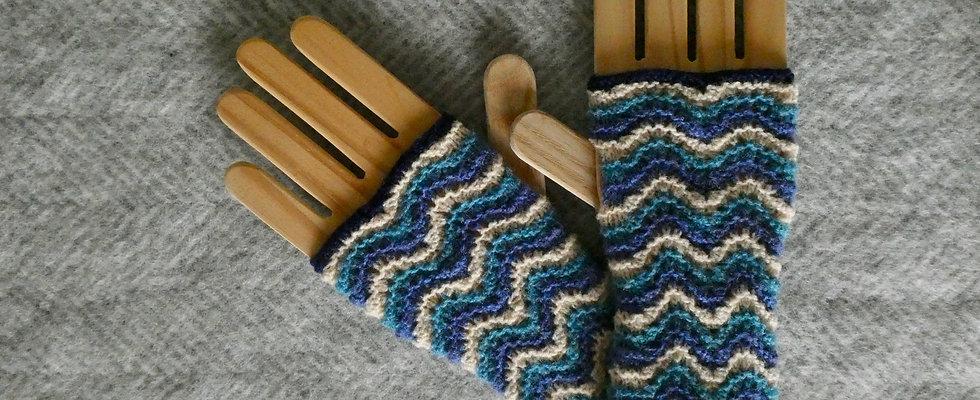 Shetland Lace Handwarmers