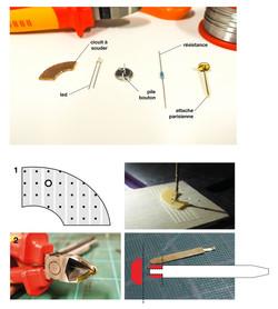 documentation DIY Badge lumineux 1